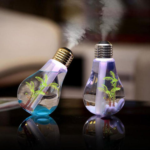 7 Colors LED Bulb Humidifier - KayZ Pro