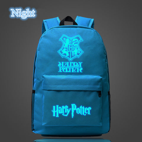 New Arrival Fashion Noctilucent Harry Potter Luminous Backpack - KayZ Pro