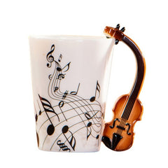 Novelty Music Ceramic Cup