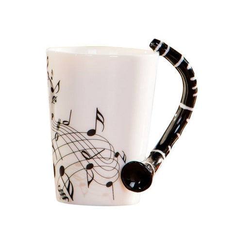 Novelty Music Ceramic Cup - KayZ Pro