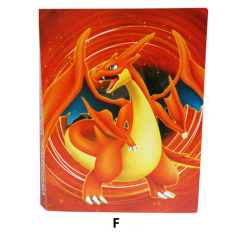 Pokemon Card  Albums 8 POCKET/PAGE 112 CARDS COLLECTOR - KayZ Pro