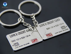 Bankcard/ Credit card Couple Keychain ( Buy 1 keychain, Get free for your other half for just $9.99) - KayZ Pro