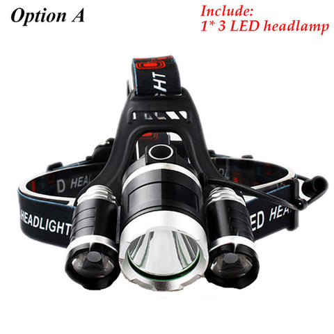 Hiking Headlamp - KayZ Pro