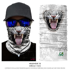 3D Seamless Magic Scarf & Skeleton Face Shields