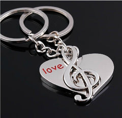 Hot Novelty Chaveiro Couple Keychain
