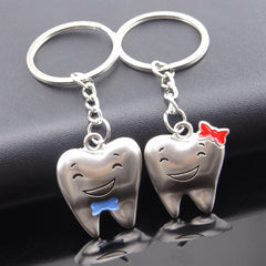 Hot Trinket Anime Couple Key Chain