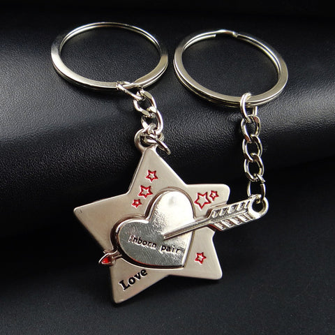 Valentine's Day Novelty Couple Keychain Gift (1 pair -  Buy One Get One Free with just $9.99) - KayZ Pro