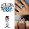 Image of Heart Shaped Engagement Ring for Ladies - KayZ Pro