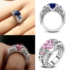 Heart Shaped Engagement Ring for Ladies