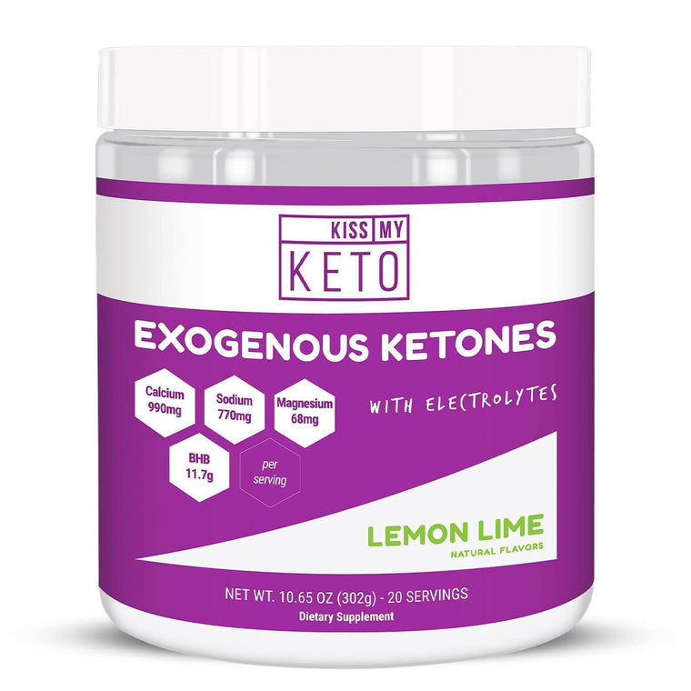Kiss My keto exogenous ketones Lemon Lime