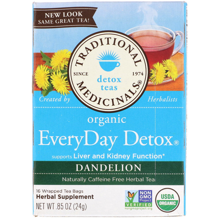 Traditional Medicinals - Te EveryDay Detox Diente De Leon
