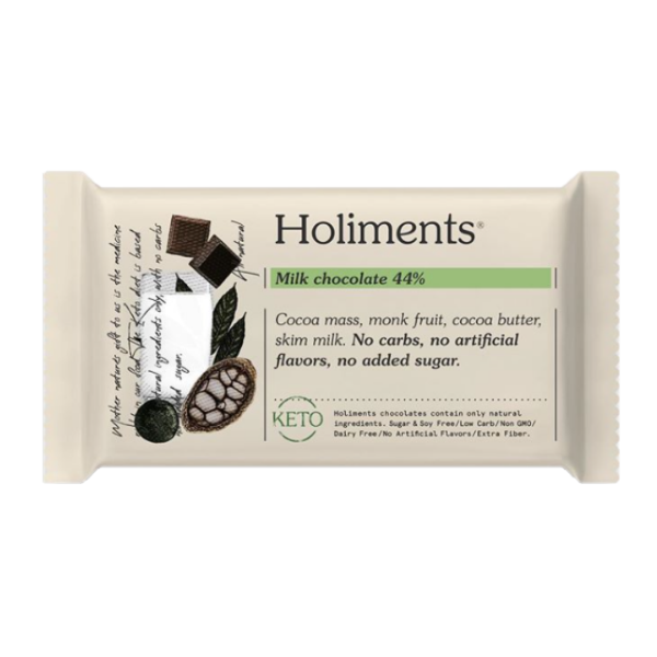Holiments - Milk chocolate 44%