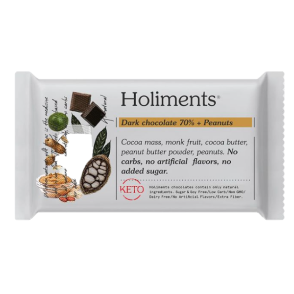Holiments - Dark Chocolate 70% Peanut Butter