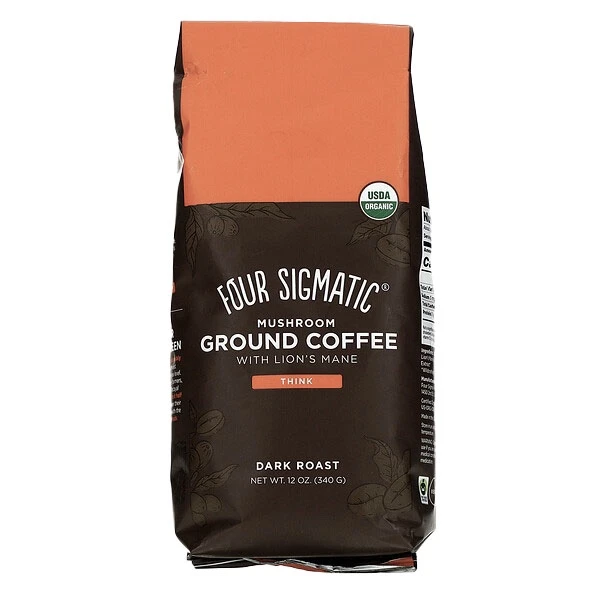 Four Sigmatic - Mushroom Coffee Lions Mane 340g bolsa grande