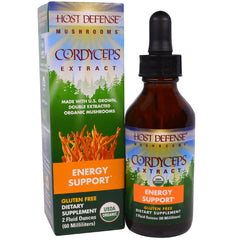 Cordyceps Extract Energy Support HOST DEFENSE