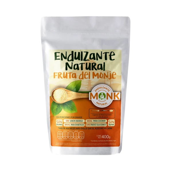 Endulzante del Monje - Monk Fruit - 400 gr