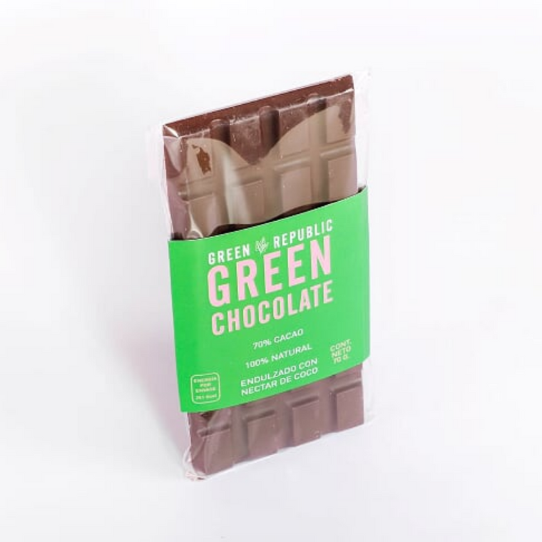 GREEN CHOCOLATE 70% CACAO