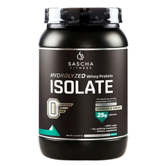 Sascha Fitness  - Protein Isolate Cookies and Cream
