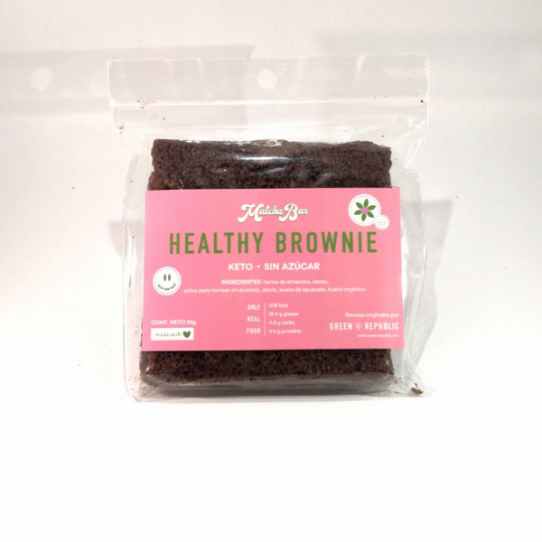 Green Republic - Healthy Brownie Chocolate - Solo CDMX