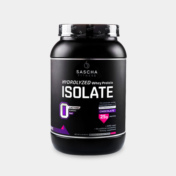 Sascha Fitness  - Protein Isolate Chocolate