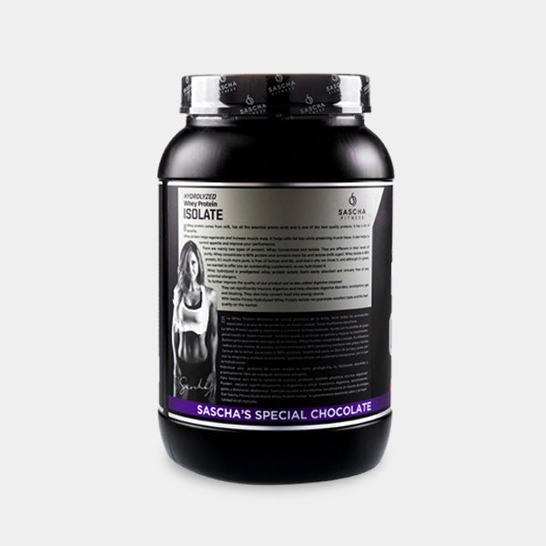 Sascha Fitness  - Proteina Isolate Chocolate