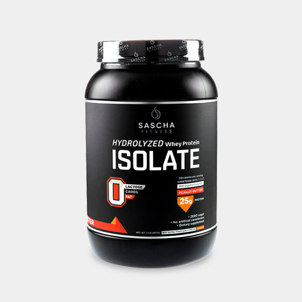 Sascha Fitness  - Protein Isolate Peanut Butter