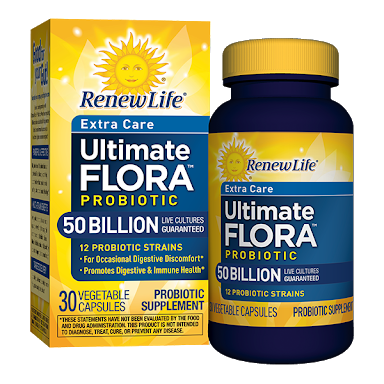 Probioticos Ultimate Flora Extra Care 50 Bill ( 30 caps. )