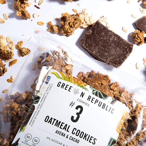 Oatmeal Cookies con Cacao