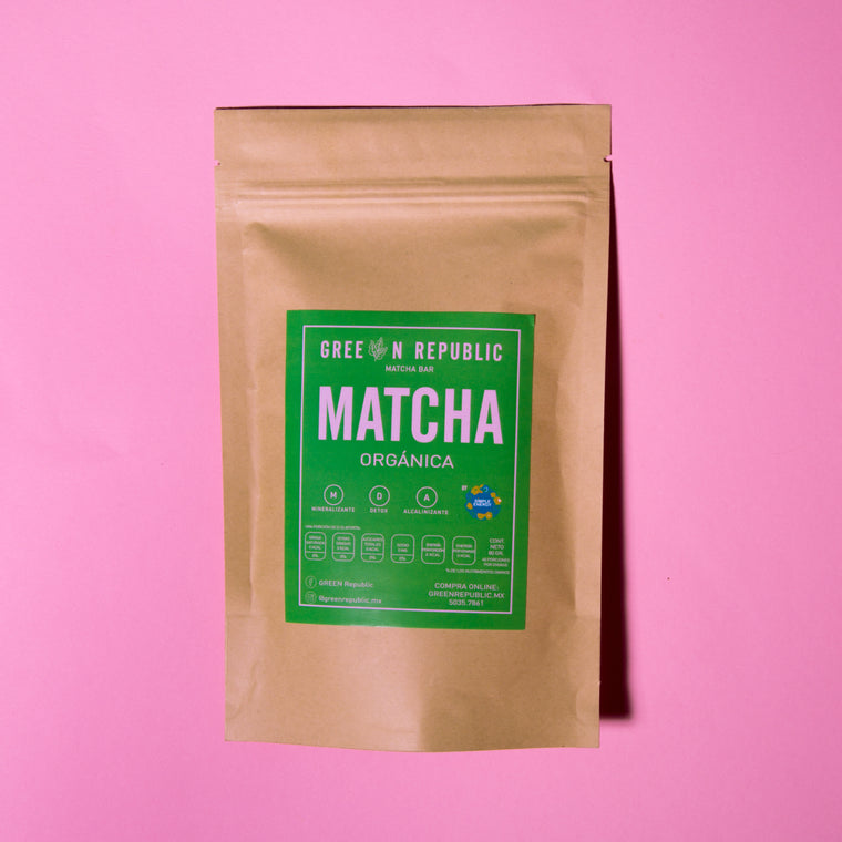 Matcha Orgánica Green Republic