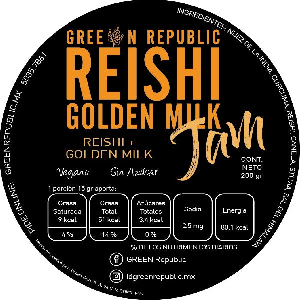 JAM Reishi Golden Milk