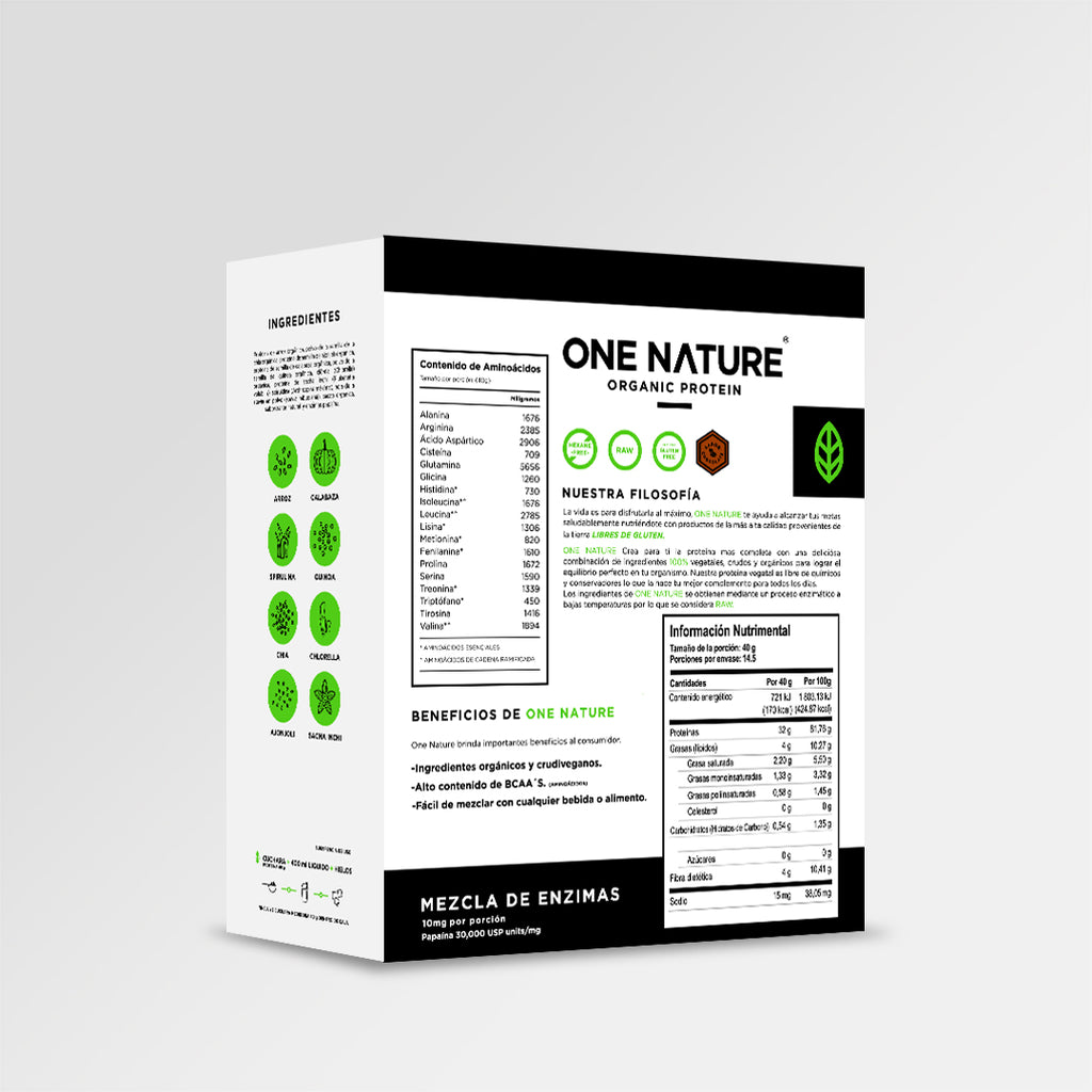 ONE NATURE Proteína Chocolate 580 gr