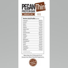 Pegan Thin Protein Bar Chocolate Lava