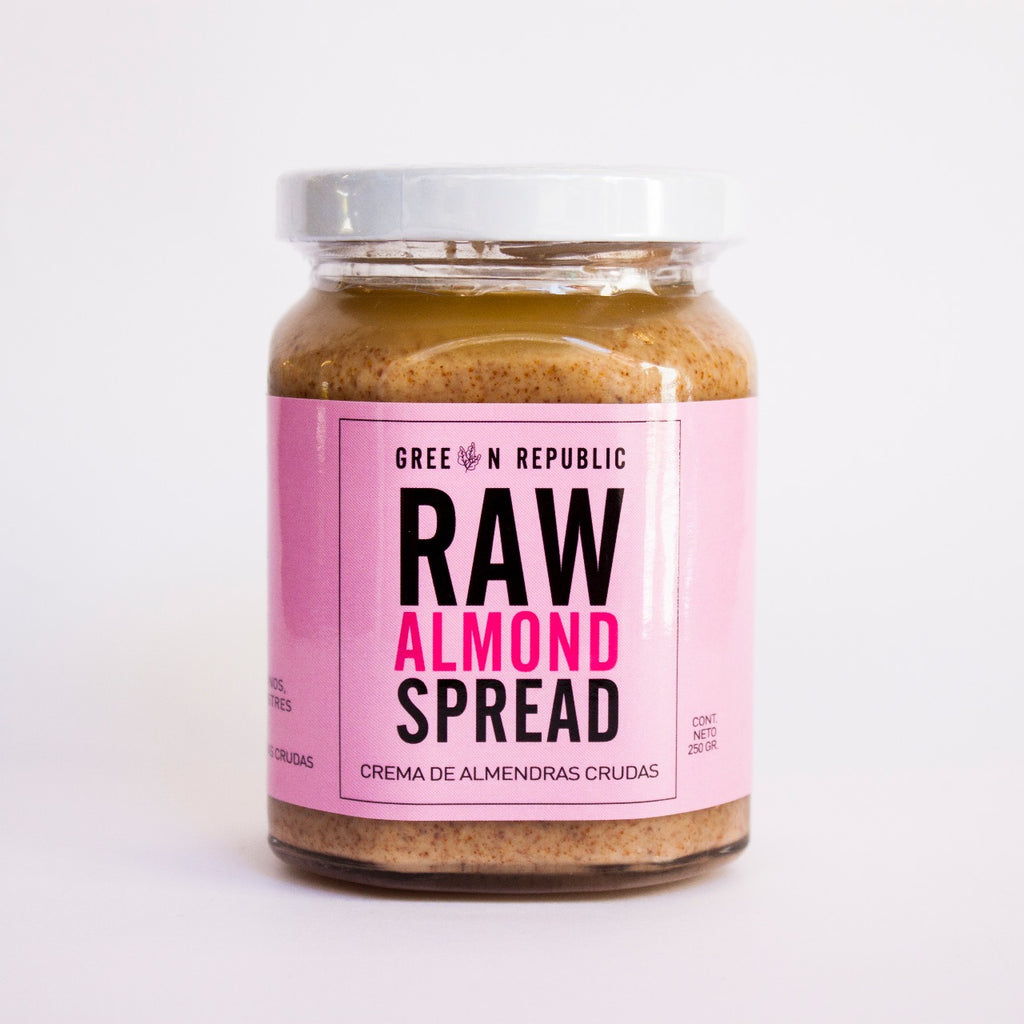 Spread Raw Almendra