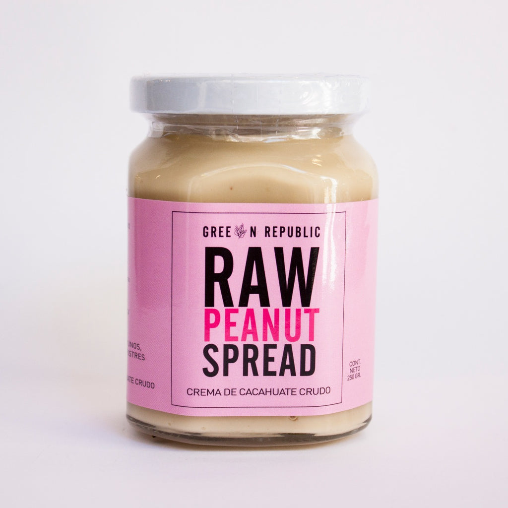 Raw Peanut Spread