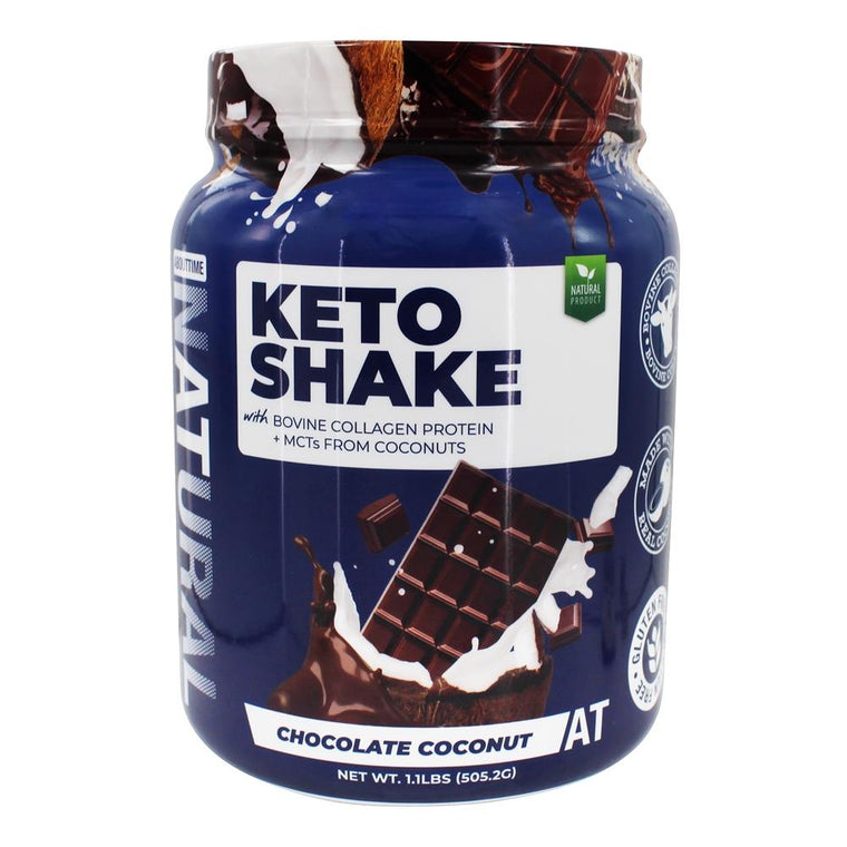 AboutTime - Keto Shake Chocolate Coconut