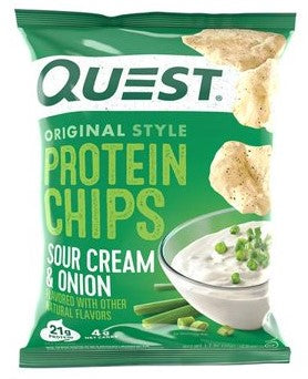 QUEST Protein Chips Sour Cream & Onion