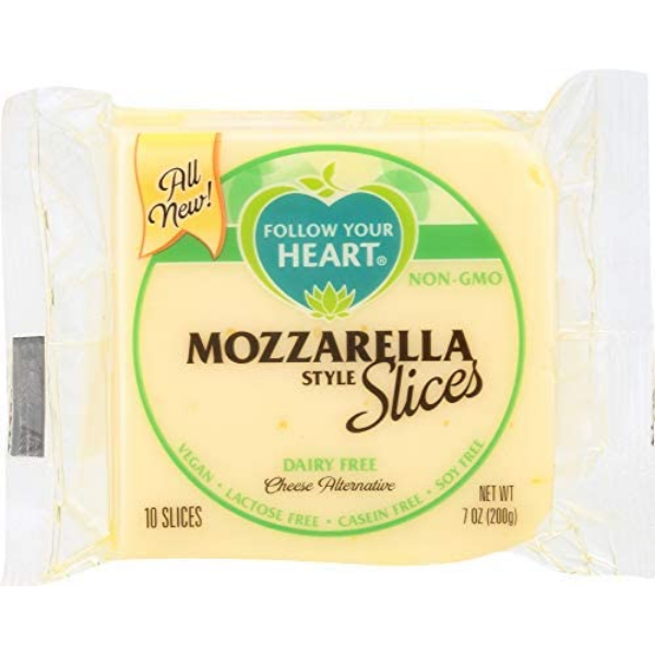 Follow Your Heart - Mozzarella Style Slices - Solo CDMX