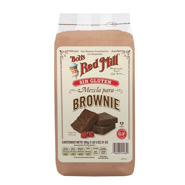 Bobs Red Mill - Harina Para Brownie  SIN GLUTEN