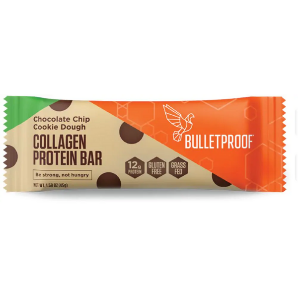 Collagen Proteín Bar Chocolate Chips Cookie Dought