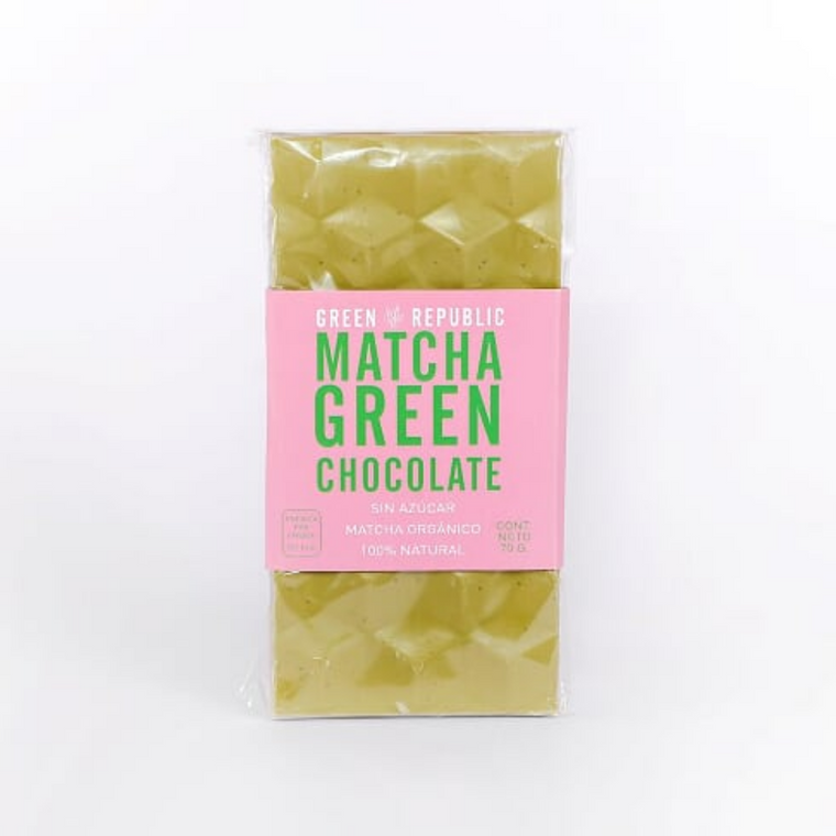 MATCHA GREEN CHOCOLATE