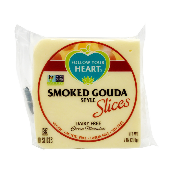 Follow Your Heart - Smoked Gouda Style Slices - Solo CDMX