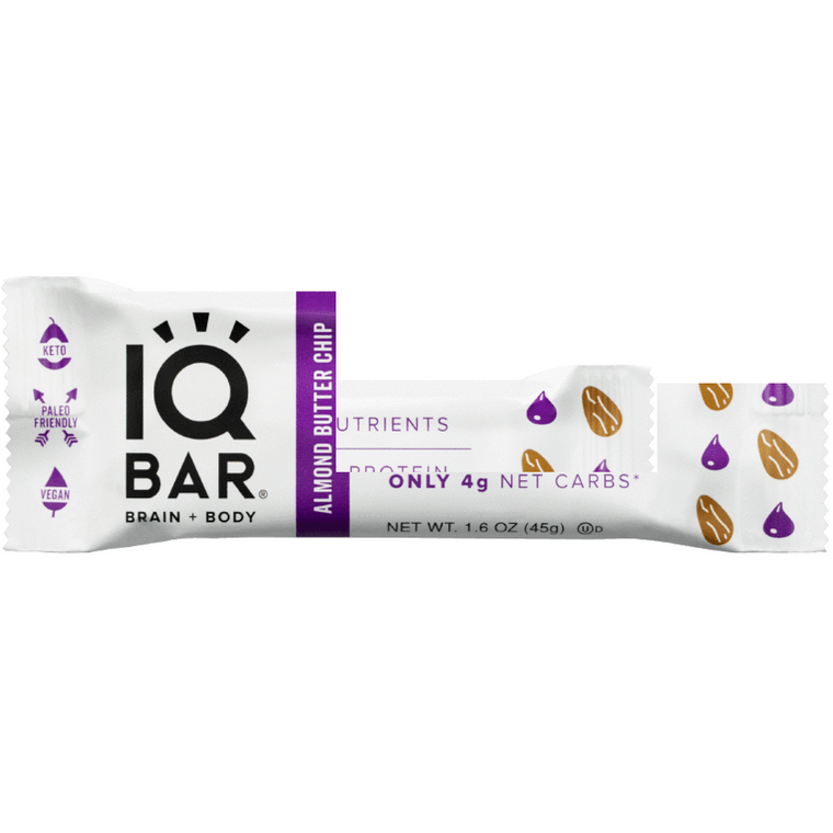 IQ Bar - Almond Butter