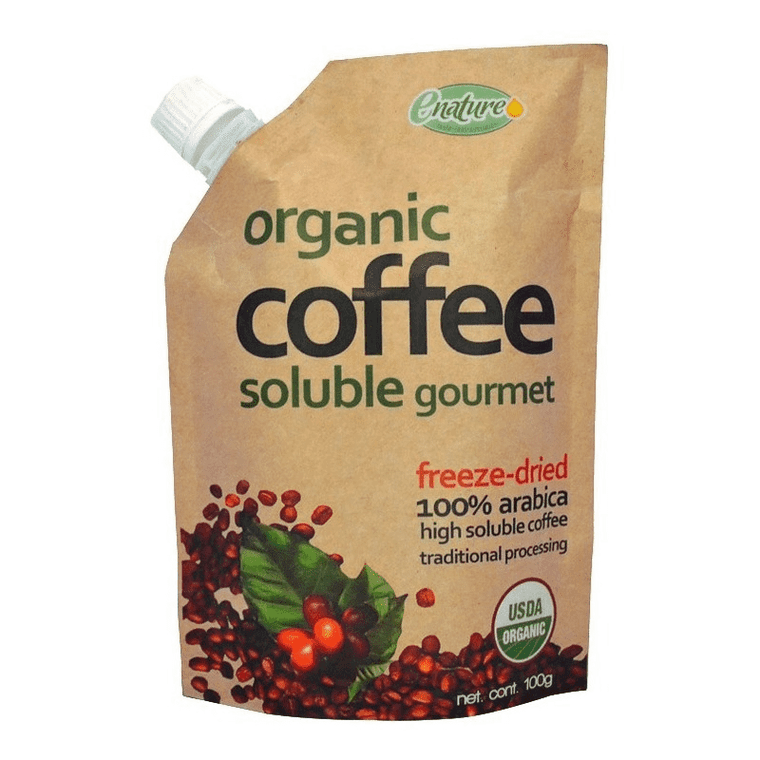 Cafe Liofilizado Soluble