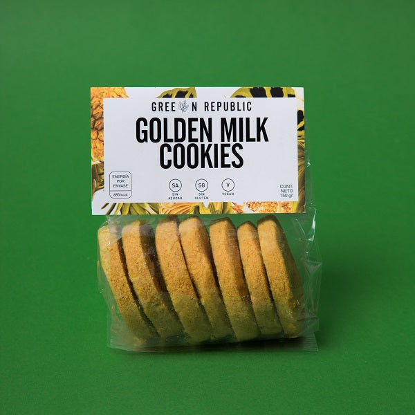 Golden Milk Cookies