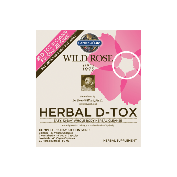 Garden Of Life - Wild Rose Herbal D-Tox