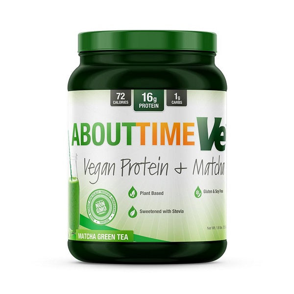 AboutTime - Vegan Protein + Matcha