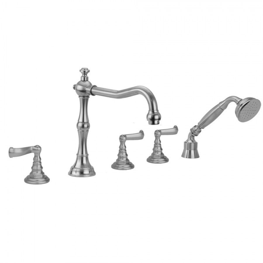 Roaring 20's Ribbon Lever Handles with Handshower - 9930-T667-TRIM