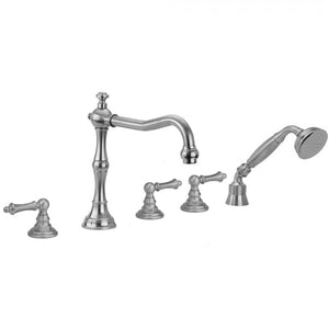 Roaring 20's Ball Lever Handles with Handshower - 9930-T679-TRIM