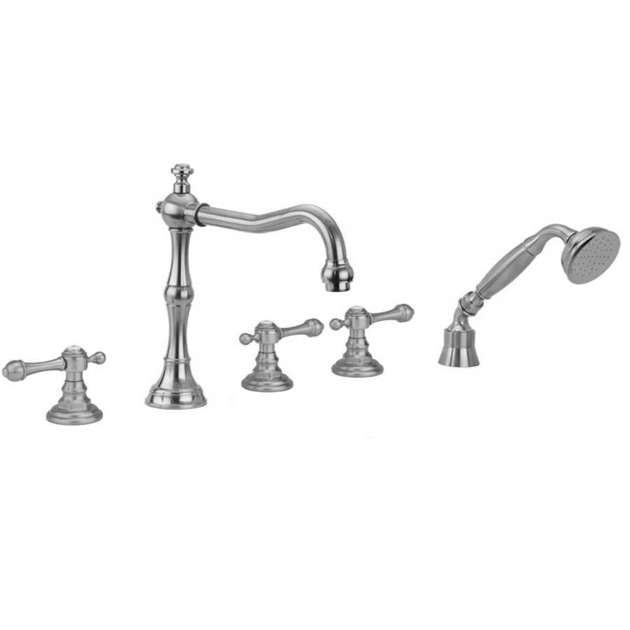 Roaring 20's Majesty Lever Handles with Handshower - 9930-T692-TRIM