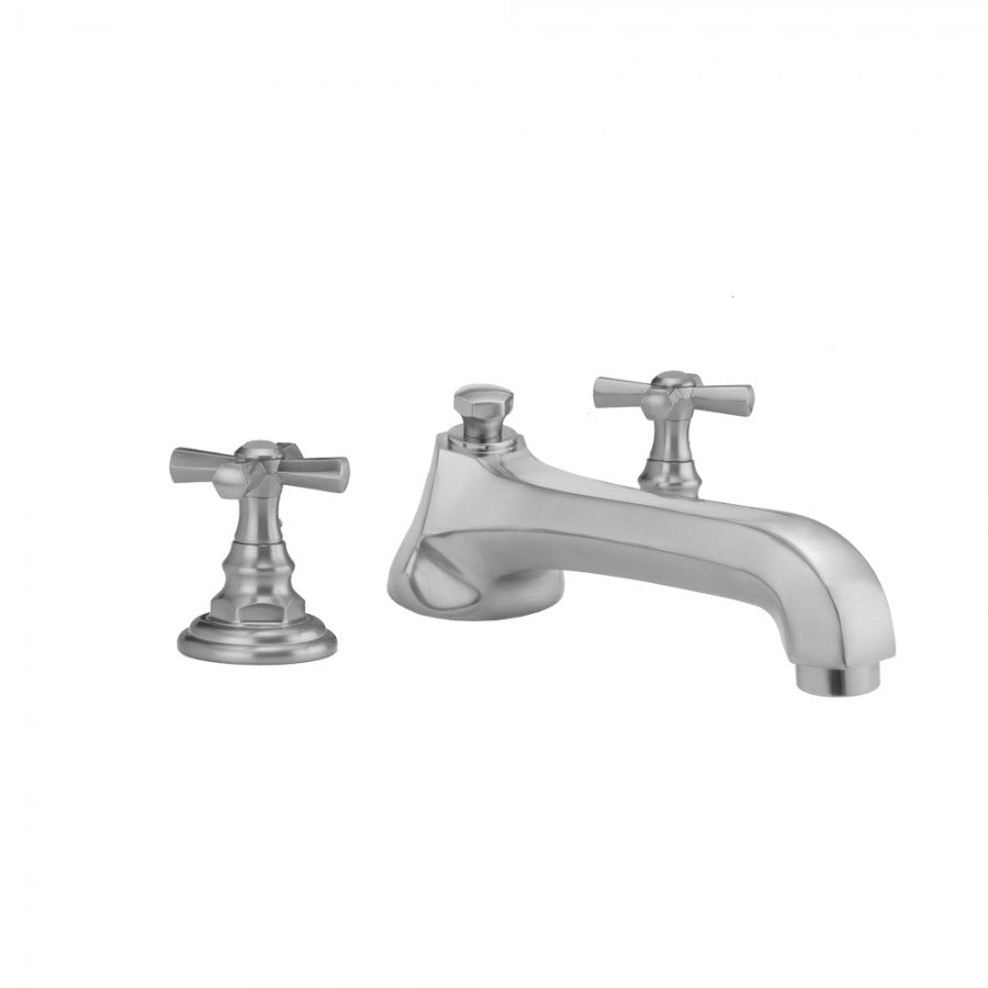 Westfield Low Spout and Hex Cross Handles - 6970-T676-TRIM